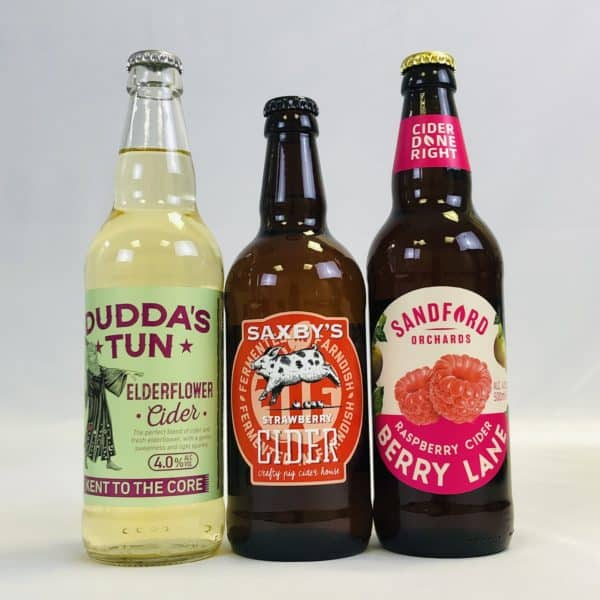 Ciderlicious - Case of 12 Fruit Ciders - Selection 2 3
