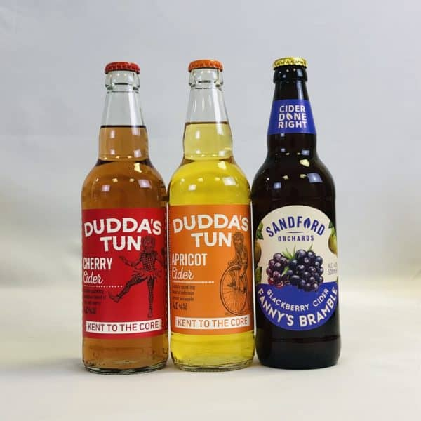 Ciderlicious - Gift of 12 Fruit Ciders - Selection 1 1