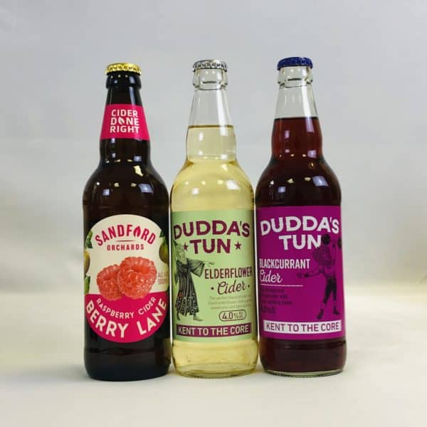 Ciderlicious - Gift of 12 Fruit Ciders - Selection 1 2