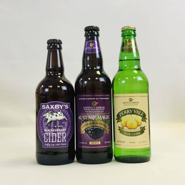 Ciderlicious - Gift of 12 Fruit Ciders - Selection 1 4
