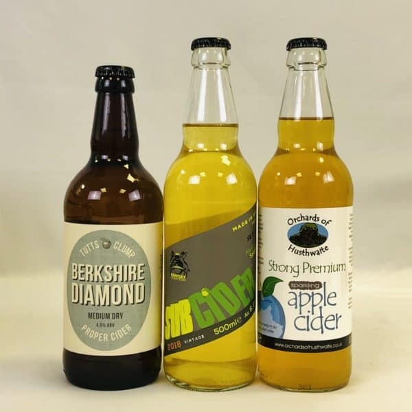 Ciderlicious - Case of 12 Medium Dry Ciders - Selection 1 2