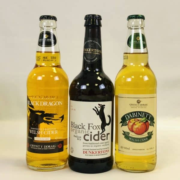 Ciderlicious - Case of 12 Medium Dry Ciders - Selection 1 3