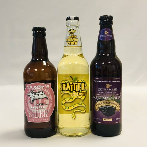 Ciderlicious - Case of 12 Fruit Ciders - Selection 1 2