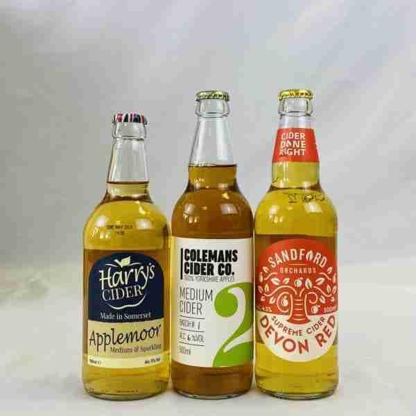 Ciderlicious - Case of 12 Medium Ciders - Selection 1 2