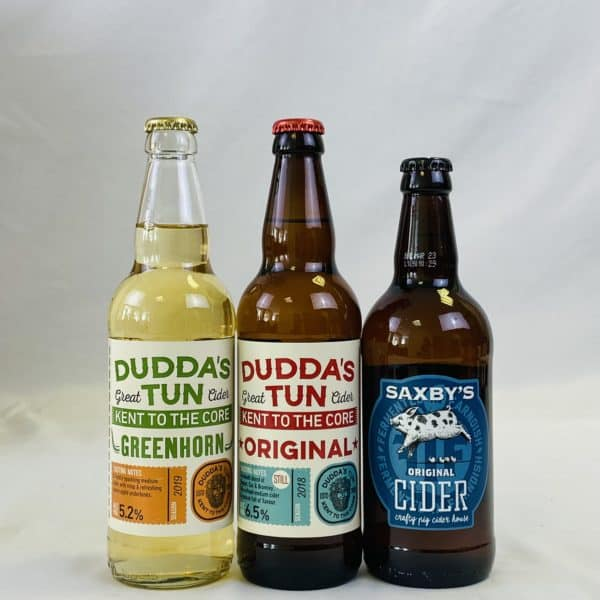Ciderlicious - Case of 12 Medium Ciders - Selection 1 3