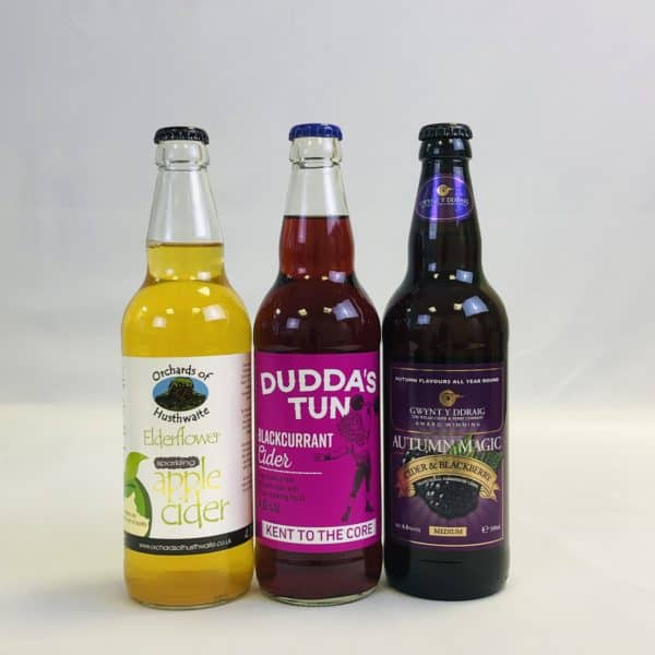 Ciderlicious - Case of 15 Fruit Ciders - Selection 1 2