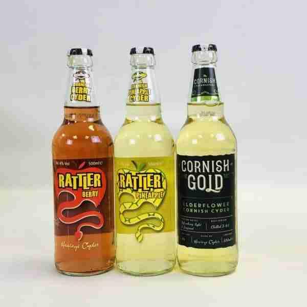 Ciderlicious - Gift of 6 Cornish Fruit Ciders 2