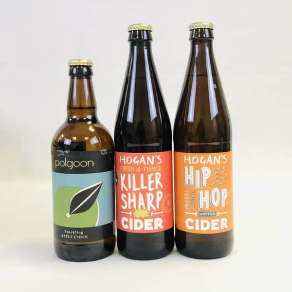 Ciderlicious - Gift of 6 Dry Ciders - Selection 1 2