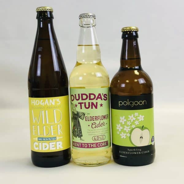 Ciderlicious - Gift of 6 Fruit Ciders - Selection 1 2