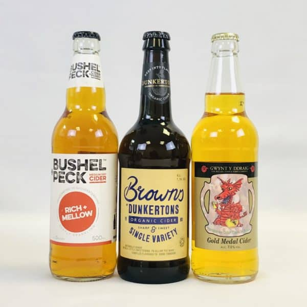 Ciderlicious - Gift of 6 Medium Dry Ciders - Selection 1 2