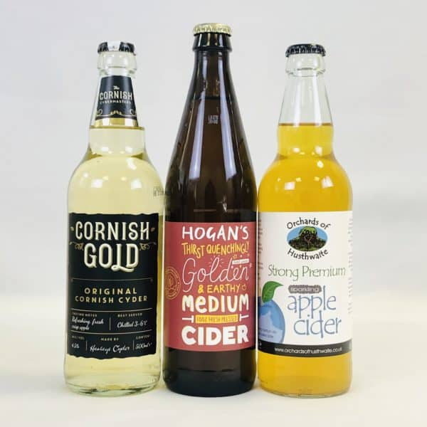 Ciderlicious - Gift of 6 Medium Dry Ciders - Selection 1 3