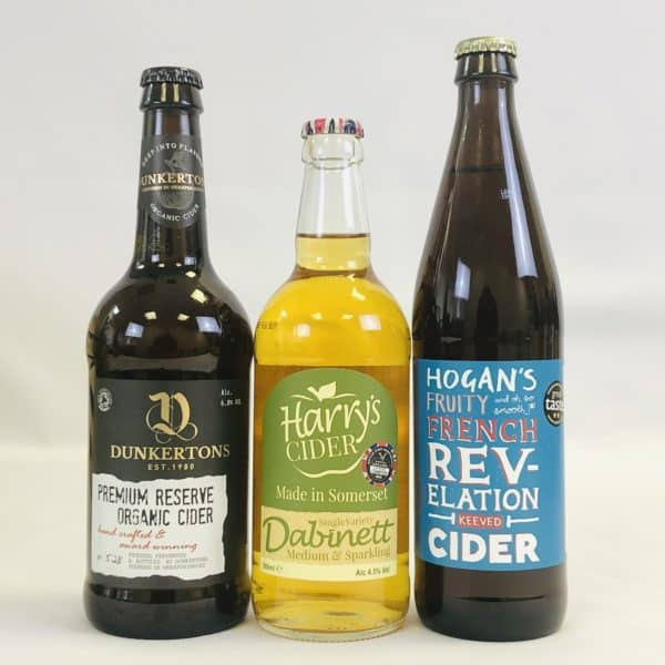 Ciderlicious - Gift of 6 Medium Ciders - Selection 1 3