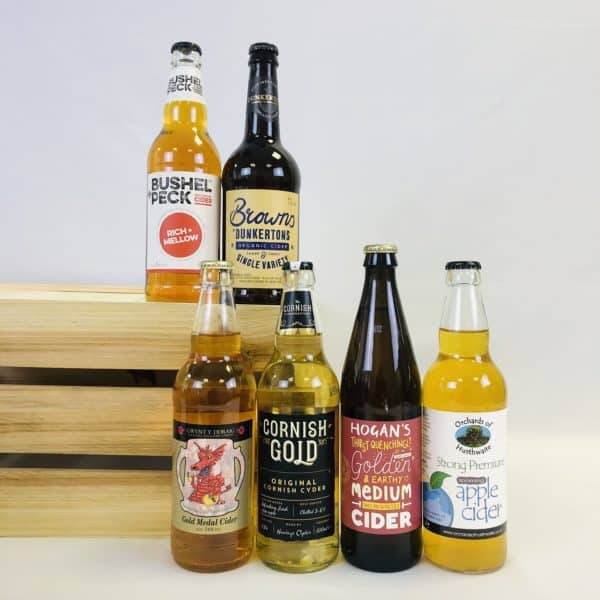 Ciderlicious - Gift of 6 Medium Dry Ciders - Selection 1 1