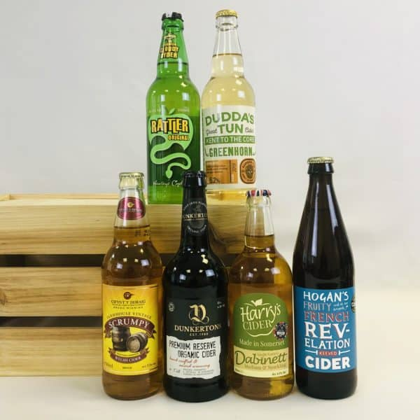 Ciderlicious - Gift of 6 Medium Ciders - Selection 1 1