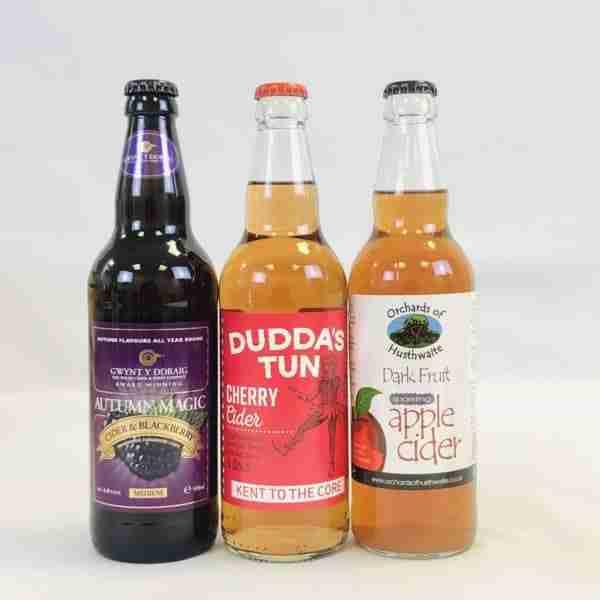Ciderlicious - Gift of 6 Dark Fruit Ciders 1