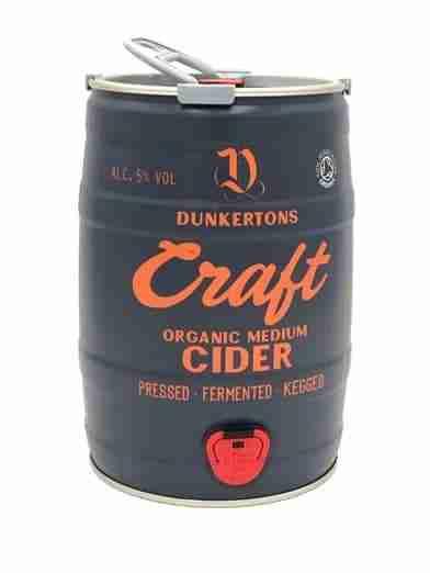 Ciderlicious - Dunkertons Craft 5 Litre Mini Keg 1