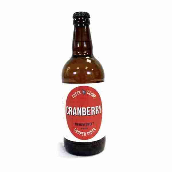 Ciderlicious - Tutts Clump Cranberry 1