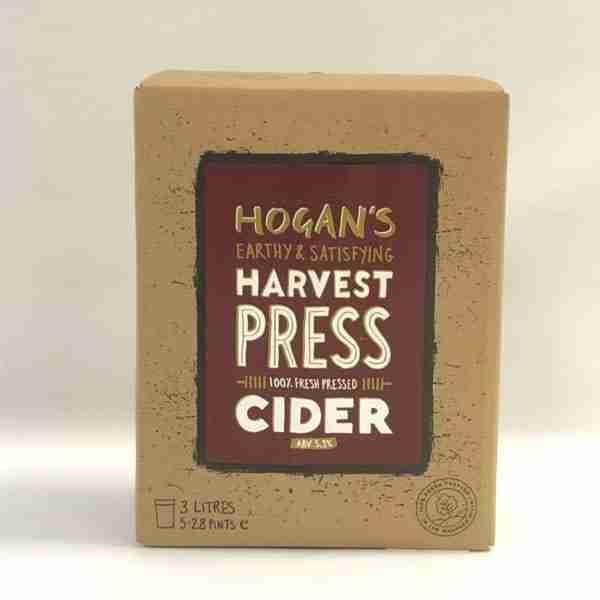 Ciderlicious - Hogans Harvest Press 3L Bag in Box 1
