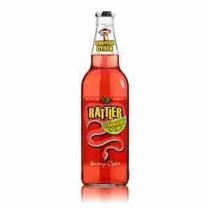 Ciderlicious - Healeys Rattler Strawberry & Lime 1