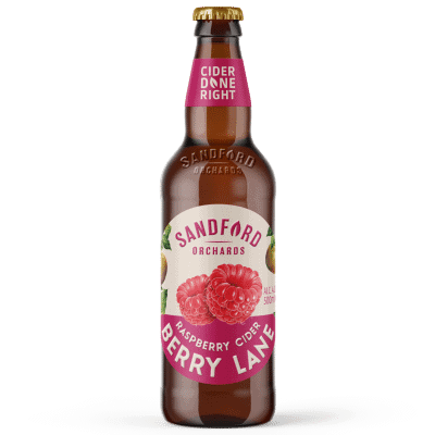 Ciderlicious - Sandford Orchards Berry Lane 1