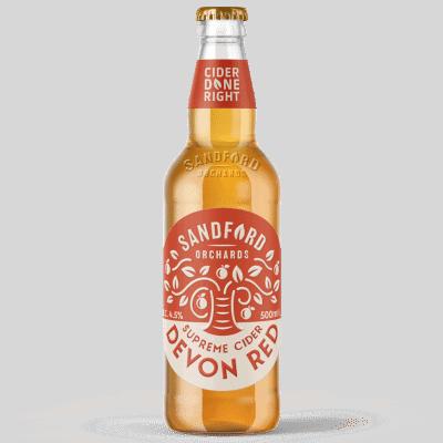 Ciderlicious - Sandford Orchards Devon Red 1