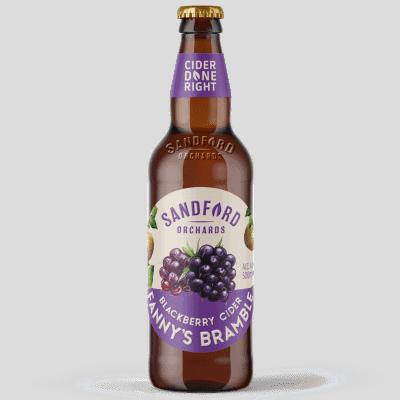 Ciderlicious - Sandford Orchards Fanny's Bramble 1