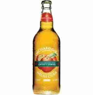 Ciderlicious - Gwynt Y Ddraig Orchard Gold Cider 1