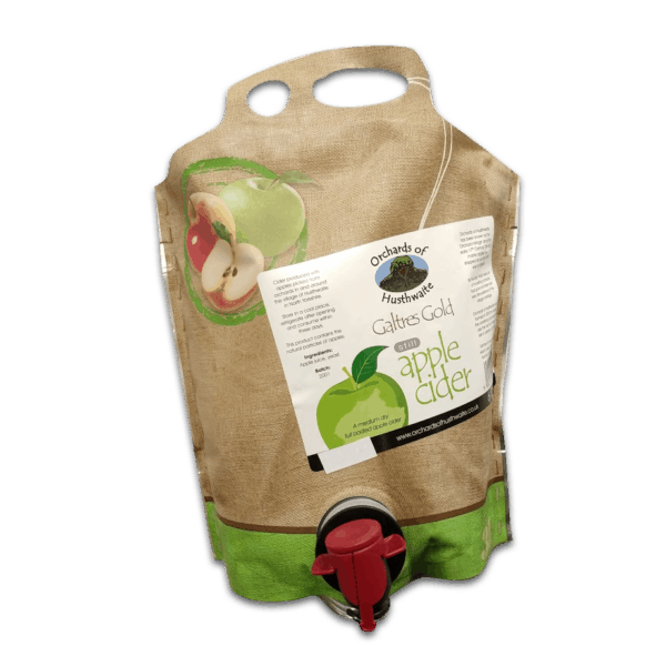 Ciderlicious - Orchards of Husthwaite Gold Cider 3 Litre Pouch 1