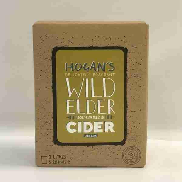 Ciderlicious - Hogans Wild Elder 3L Bag in Box 1