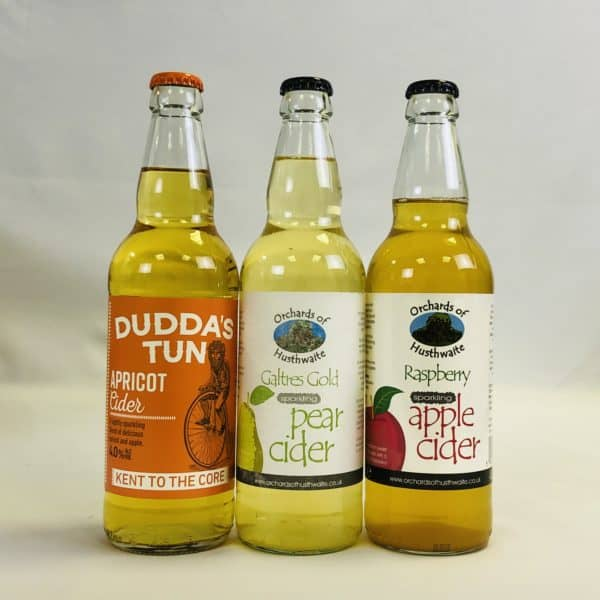 Ciderlicious - Gift of 12 Fruit Ciders - Selection 2 4