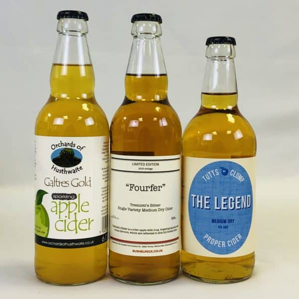Ciderlicious - Case of 12 Medium Dry Ciders - Selection 2 1