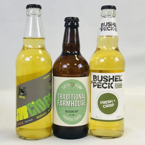 Ciderlicious - Case of 12 Medium Dry Ciders - Selection 2 3