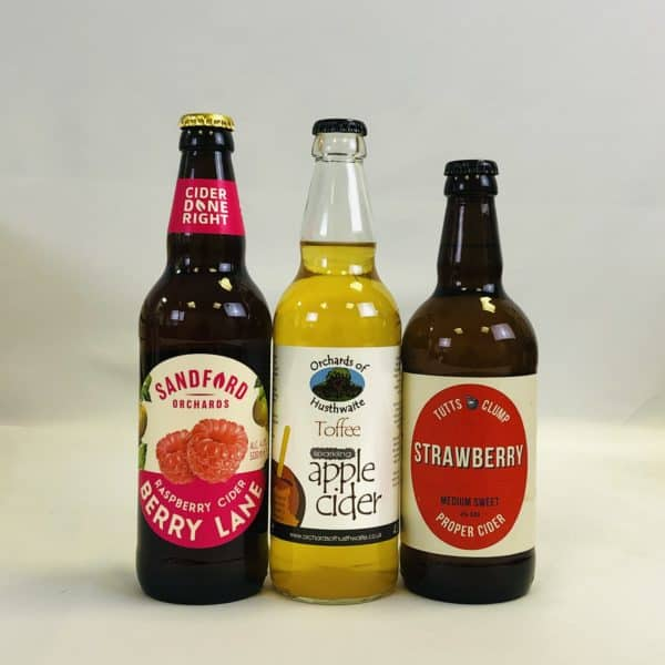 Ciderlicious - Gift of 15 Fruit Ciders - Selection 1 3
