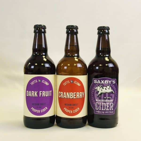 Ciderlicious - Gift of 15 Fruit Ciders - Selection 2 3