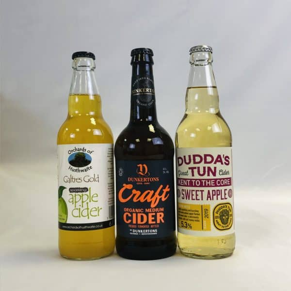 Ciderlicious - Gift of 18 Mixed Ciders - Selection 1 1