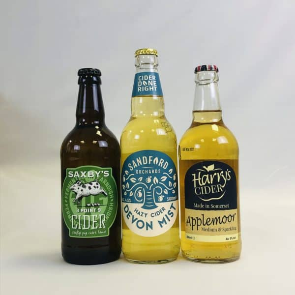 Ciderlicious - Gift of 18 Mixed Ciders - Selection 1 2