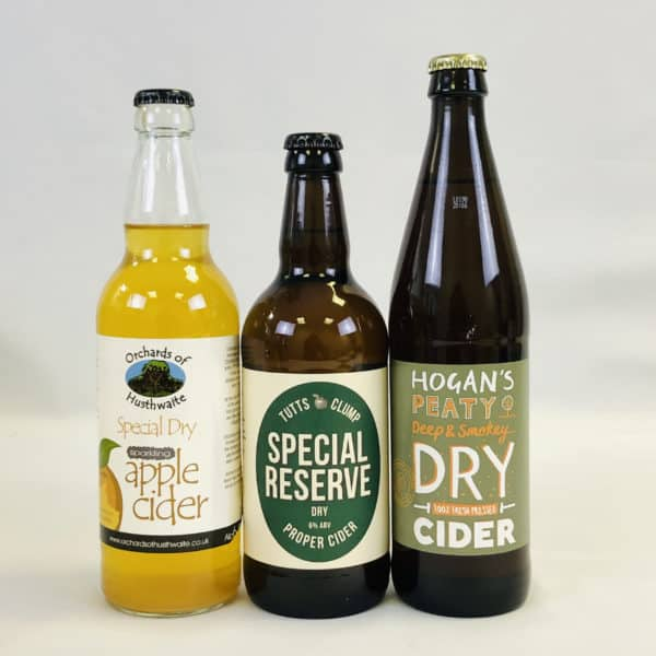Ciderlicious - Gift of 6 Dry Ciders - Selection 2 3