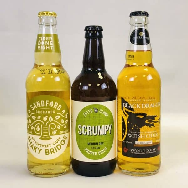 Ciderlicious - Gift of 6 Medium Dry Ciders - Selection 2 1