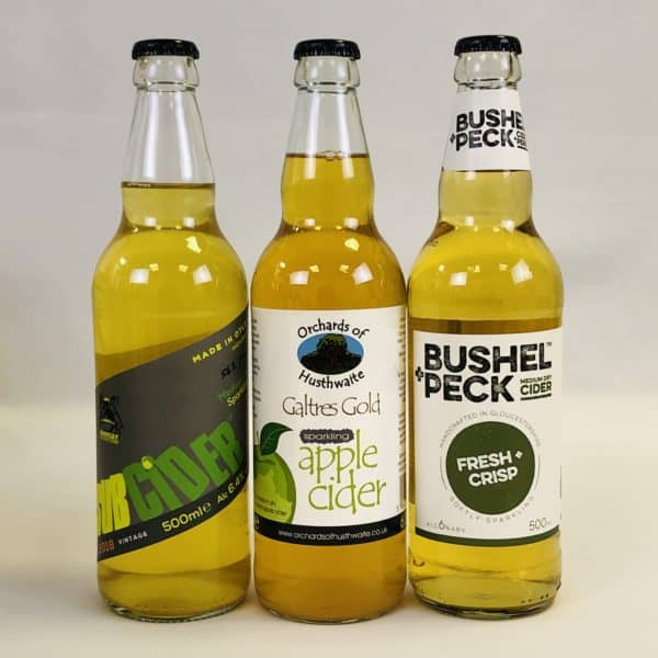 Ciderlicious - Gift of 6 Medium Dry Ciders - Selection 2 2