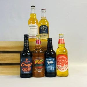 6 medium ciders