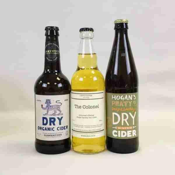 Ciderlicious - Night in Box - 9 Dry Cider Bottles & 4 Snacks 1