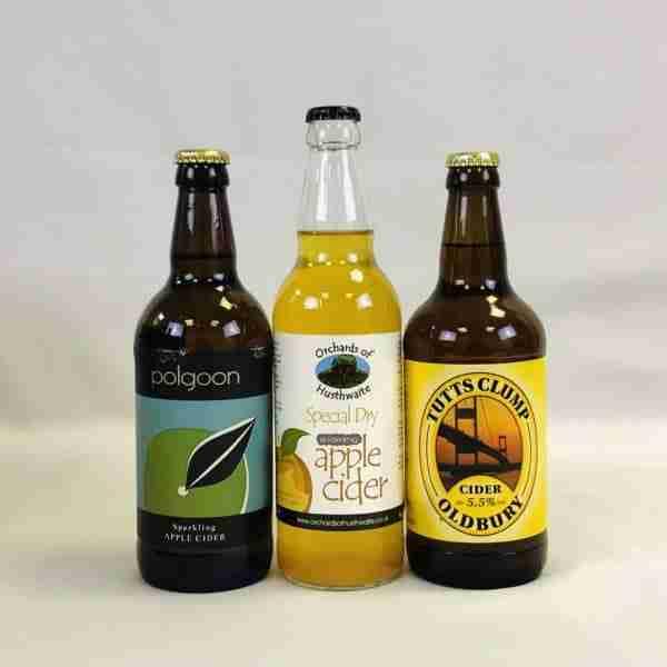 Ciderlicious - Night in Box - 9 Dry Cider Bottles & 4 Snacks 3