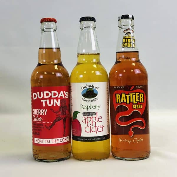 Ciderlicious - Gift of 9 Fruit Ciders - Selection 2 1