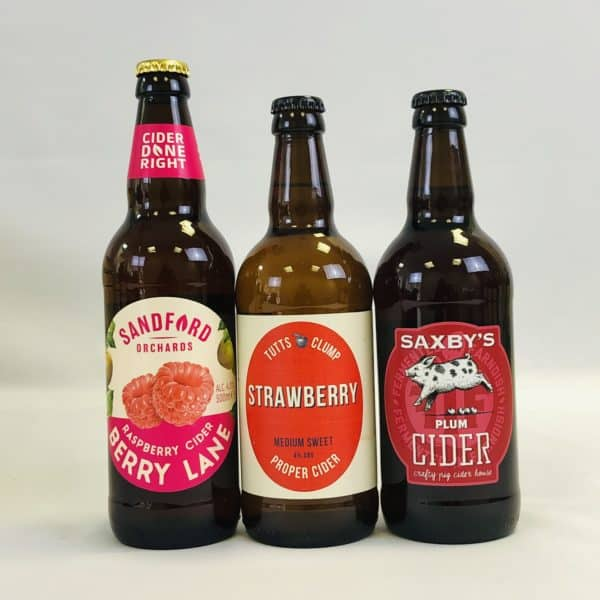 Ciderlicious - Gift of 9 Fruit Ciders - Selection 2 2