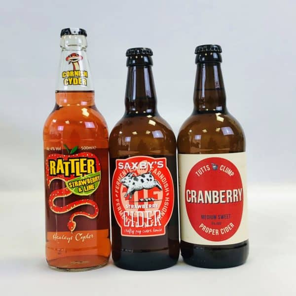Ciderlicious - Gift of 9 Fruit Ciders - Selection 2 3