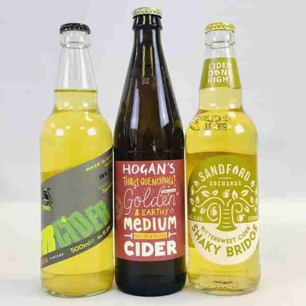 Ciderlicious - Night in Box - 9 Medium Dry Cider Bottles & 4 Snacks 2
