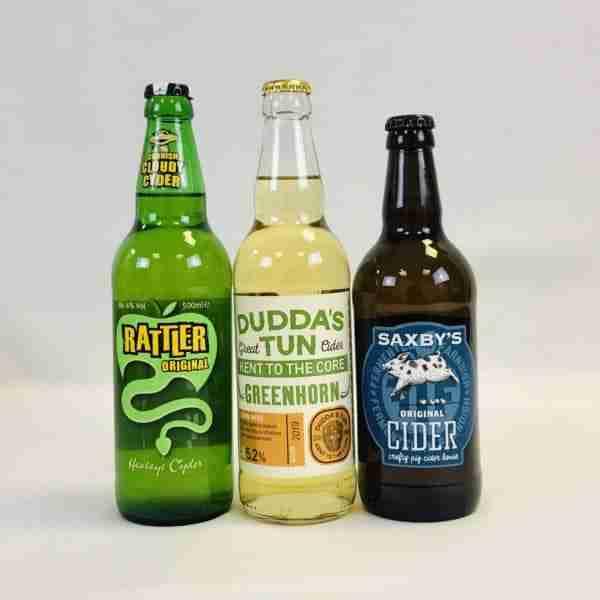 Ciderlicious - Night in Box - 9 Medium Cider Bottles & 4 Snacks 1