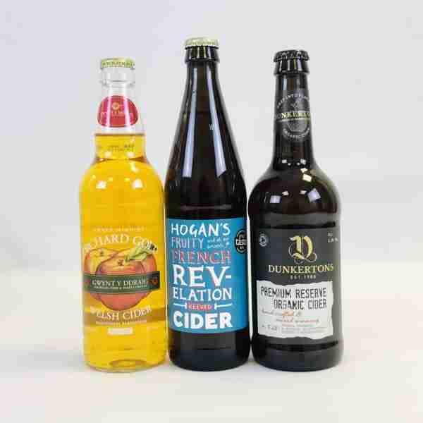 Ciderlicious - Night in Box - 9 Medium Cider Bottles & 4 Snacks 2