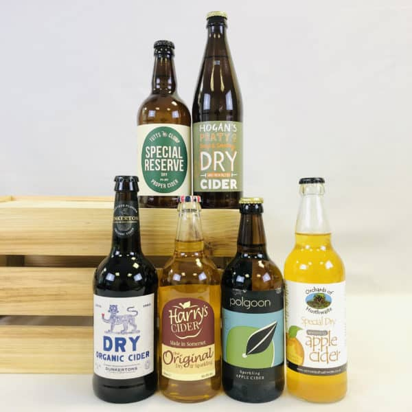 Ciderlicious - Gift of 6 Dry Ciders - Selection 2 1