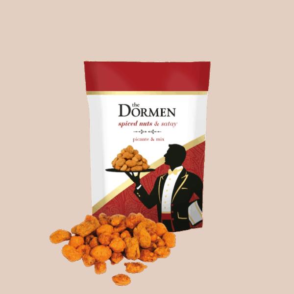 Ciderlicious - Dormen Spiced & Satay Nuts - 40g 1